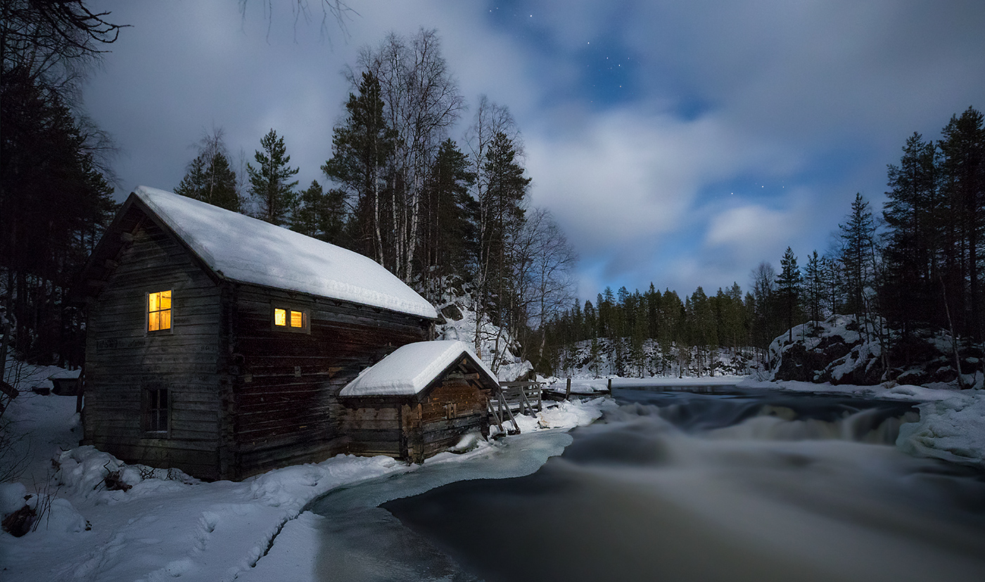 cottage in Oulanka