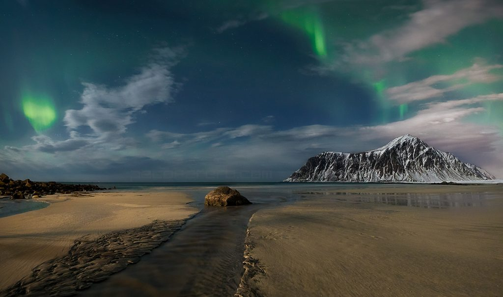 flakstad beach in lofoten